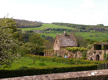 Snowshill view